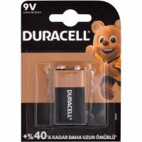 Duracell - Duracell 9V Alkalin Pil 6LR61 MN1604