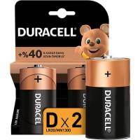 Duracell - Duracell Alkalin D Piller 2li Paket LR20 MN1300