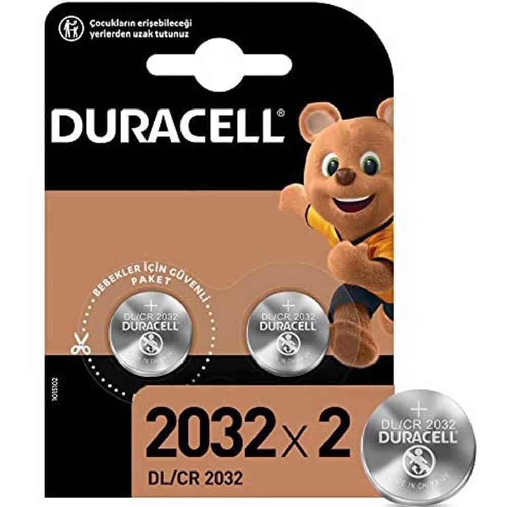 Duracell Lityum 3V Özel Düğme Pil 2li CR2032