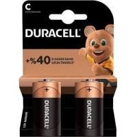 Duracell - Duracell Orta Boy C Piller LR14 MN1400
