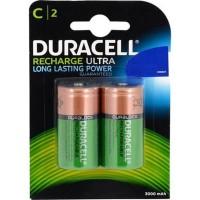 Duracell - Duracell Şarj Edilebilir C Orta Boy 3000 mAh Pil 2li Paket
