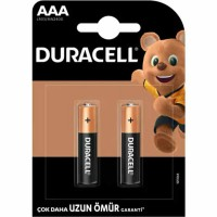Duracell - Duracell Simply AAA İnce Kalem Pil 2li LR03 MN2400