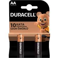 Duracell - Duracell Simply Alkalin AA Kalem Piller 2li Paket LR6 MN1500