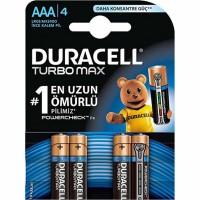Duracell - Duracell Turbo Max AAA Kalem Pil 4lü LR03 MX2004