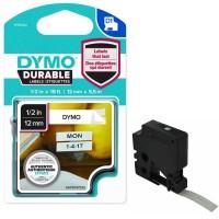 Dymo - Dymo D1 Kalıcı Şerit 12 mm x5.5 m Beyaz Siyah 1978364