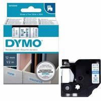 Dymo - Dymo LabelManager D1 Yedek Şerit 12 mm x 7 m Beyaz Mavi 45014
