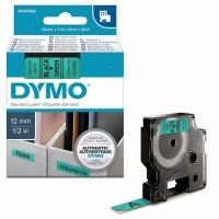 Dymo - Dymo LabelManager D1 Yedek Şerit 12 mm x 7 m Yeşil Siyah 45019