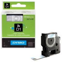 Dymo - Dymo LabelManager D1 Yedek Şerit 19 mm x 7 m Şeffaf Beyaz 45810